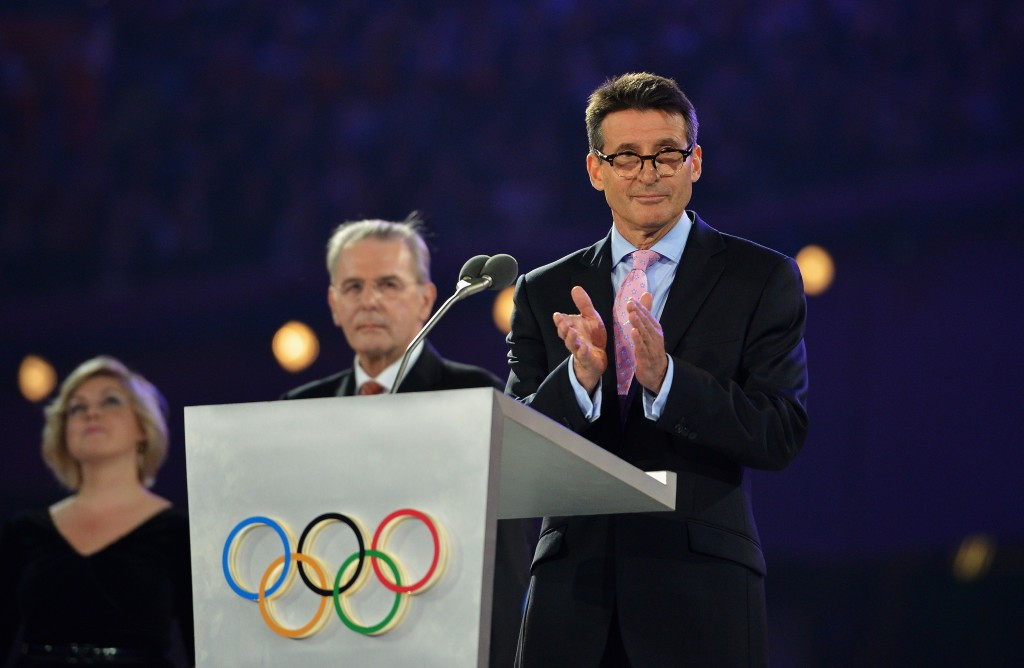 "Sebastian Coe has claimed it would be ""delusional"" to say that the London 2012 Olympic Games were the dirtiest in history ©Getty Images"