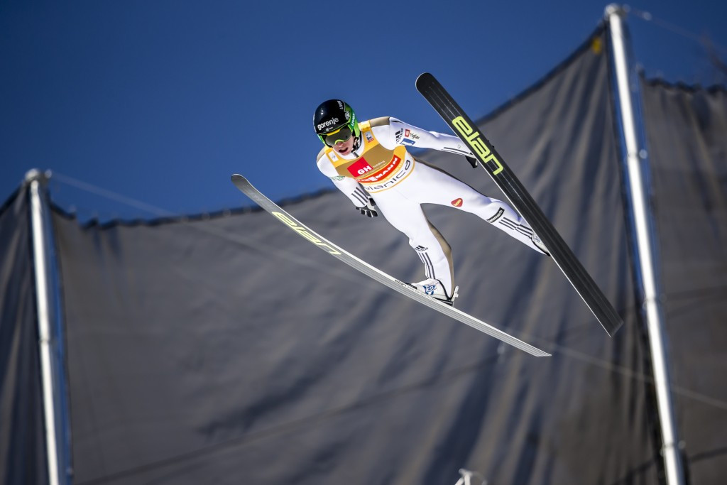 Prevc receives Slovenian Golden Order of Merit after superb ski jumping season