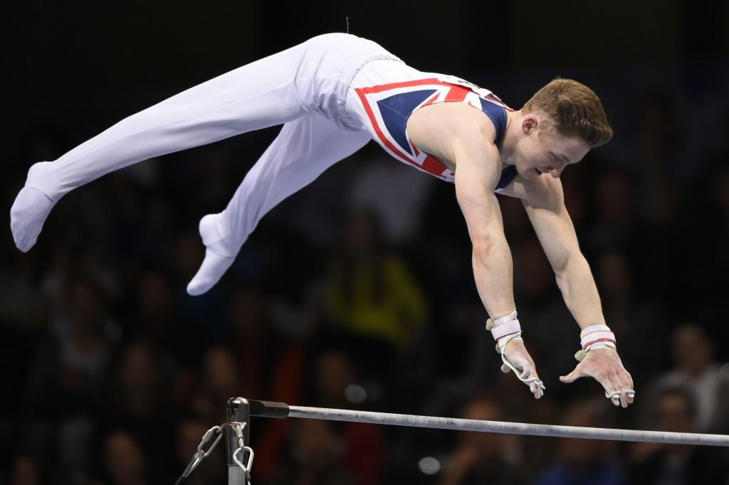 Wilson makes history as fellow Briton Smith is dethroned at European Artistic Gymnastics Championships