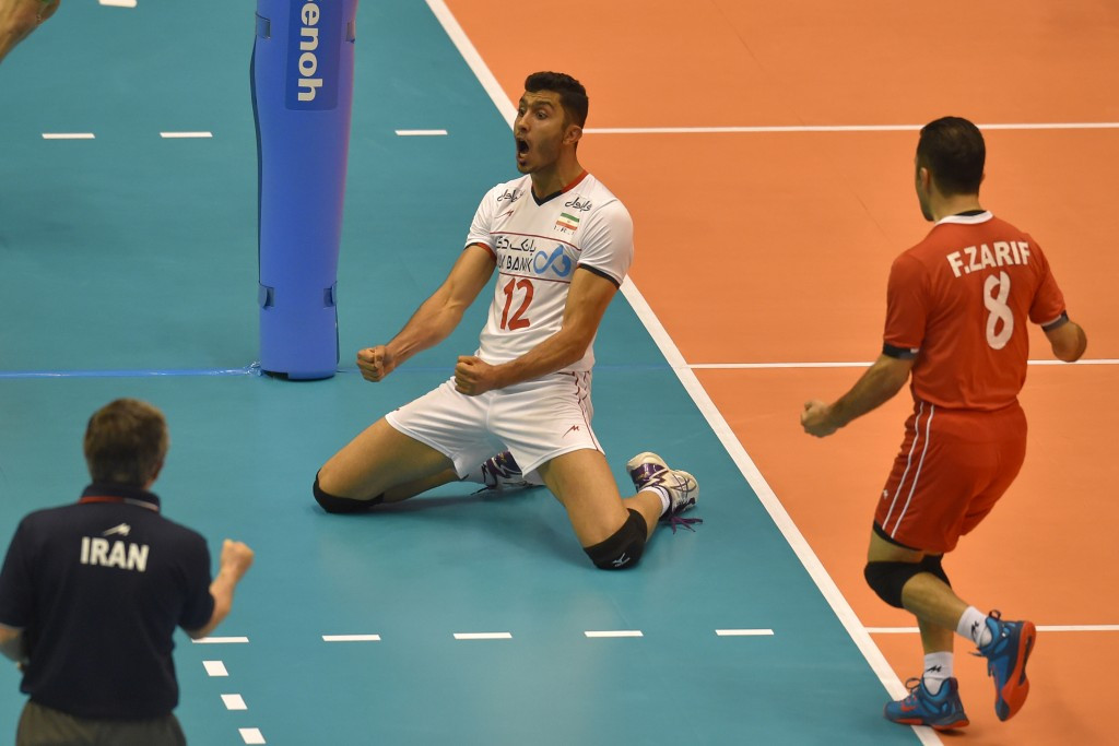 Iran battled back to beat Canada ©Getty Images