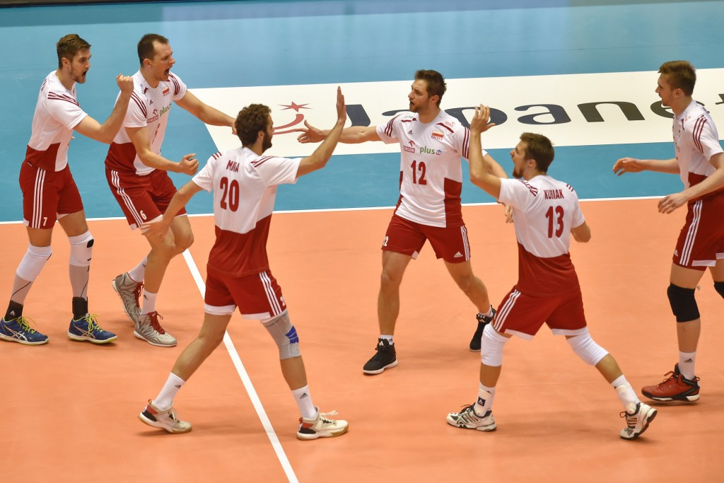 World champions Poland beat European champions France