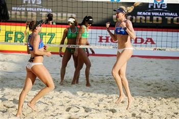 American duo claim another title at FIVB Moscow Grand Slam