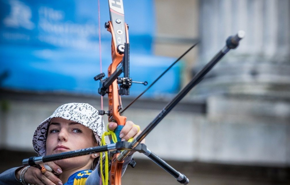 Marchenko earns maiden individual crown and leads Ukraine to team success at European Archery Championships