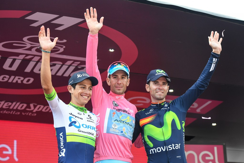 Nibali celebrates second Giro d'Italia victory as Arndt is awarded final stage win