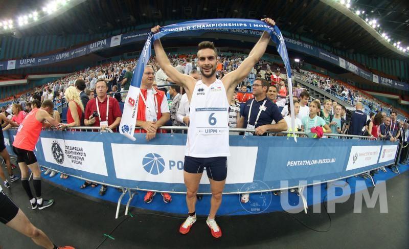 Superb run-shoot powers Belaud to men's world modern pentathlon title in Moscow