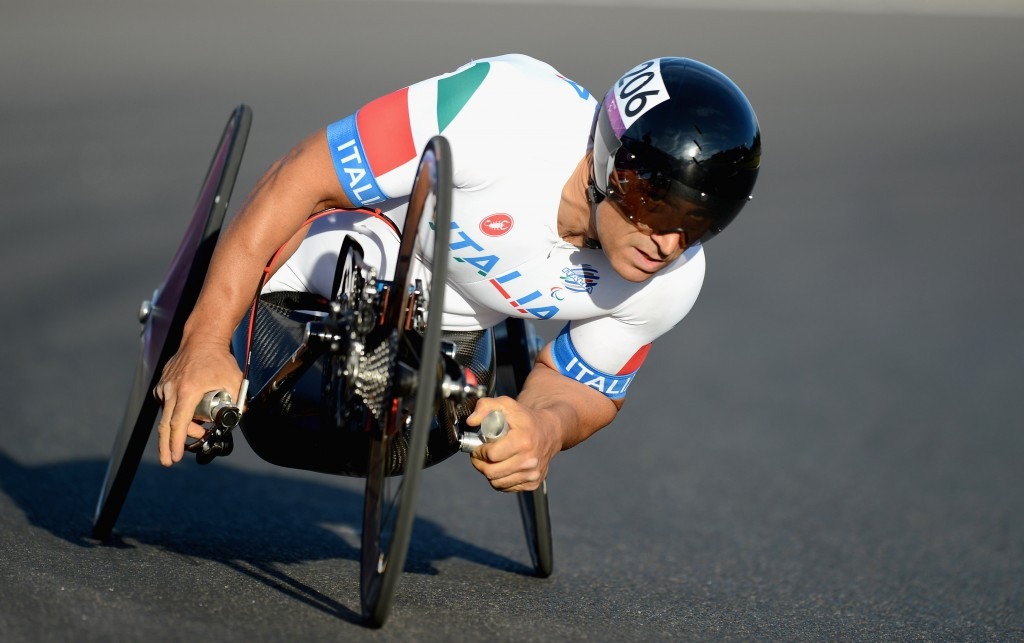 Zanardi secures third Paralympic gold after success in men's H5 time trial