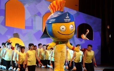 Tarracus named as mascot of 2017 Mediterranean Games