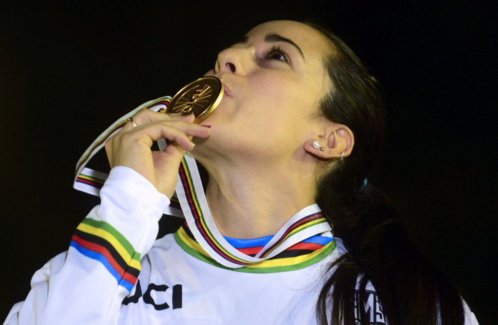 Mariana Pajon claimed the world title ahead of her Olympic title defence ©Getty Images