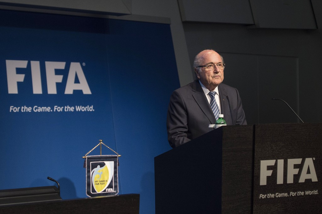 FIFA President Sepp Blatter announced he will stand down from is role amid criminal investigations by Swiss and American authorities into corruption