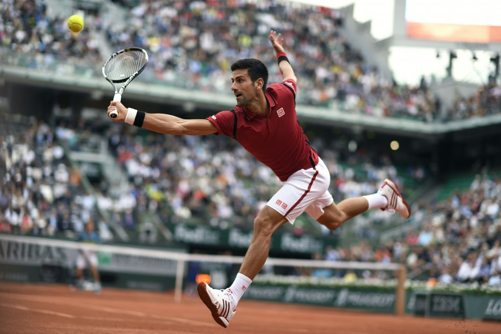 World number one Novak Djokovic was due to be in action today