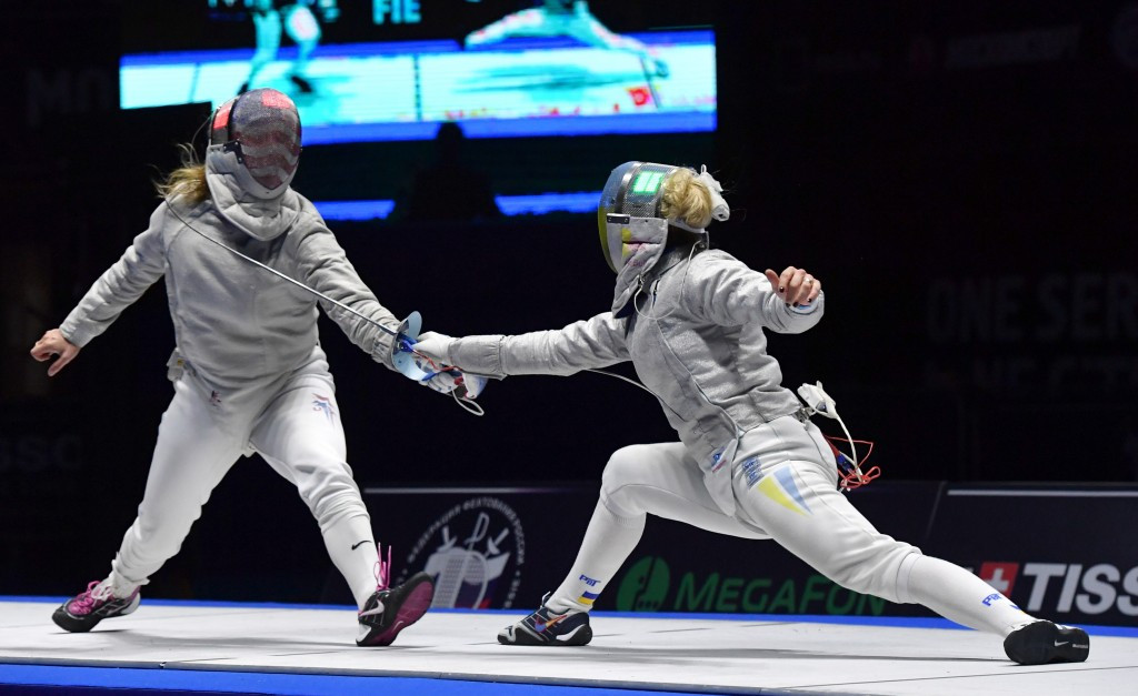 Kharlan and Kim secure gold at FIE Moscow Sabre Grand Prix