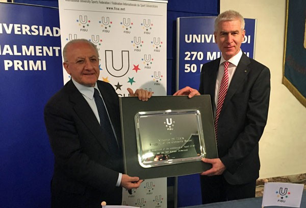 Naples confirmed as hosts of 2019 Summer Universiade