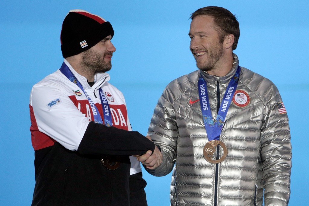 Jan Hudec ended Canada's 20-year wait for a Winter Olympic Alpine skiing medal after sharing bronze with Bode Millar at Sochi 2014