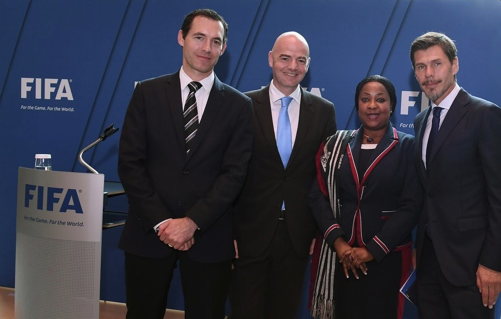 FIFA secretary general Fatma Samoura announces appointments of Villiger and Boban as deputies