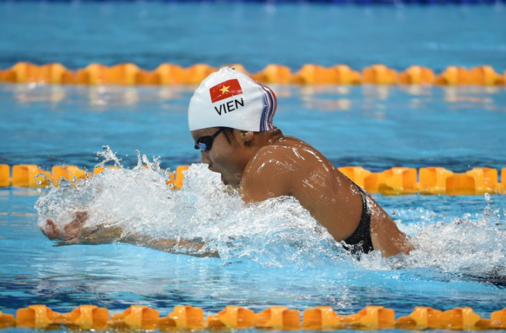 Vietnam in superb swimming form as Southeast Asian Games get underway