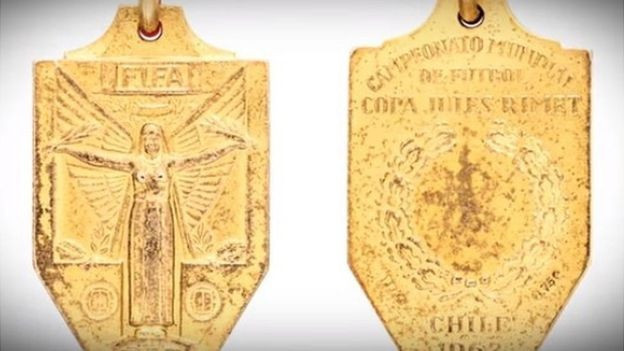 Pele's World Cup winner's medal from 1962 is among the highlights of the auction