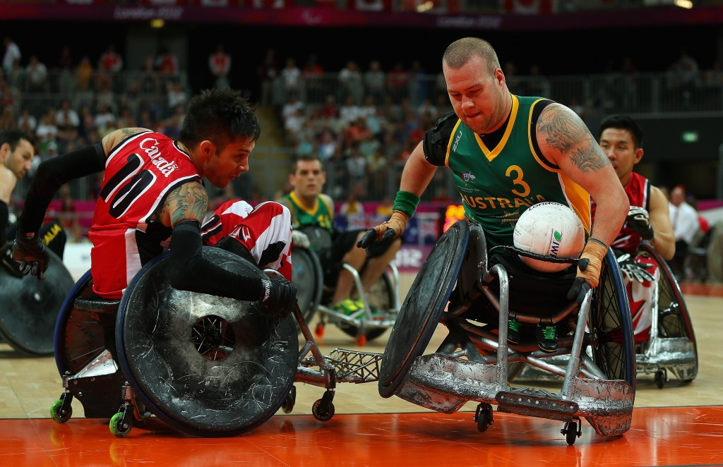 Australia won the Paralympic title at London 2012
