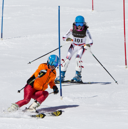 Visually impaired skier Fitzpatrick wins Evie Pinching Award