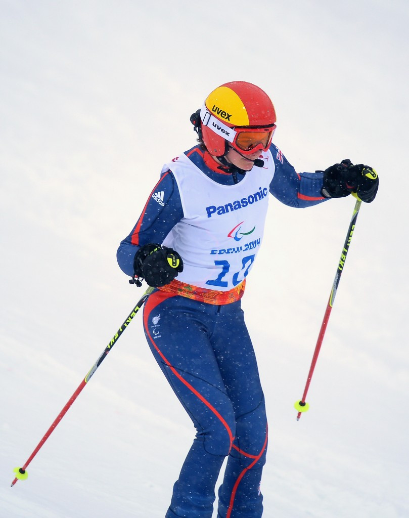 Millie Knight, another visually impaired skier, was also nominated