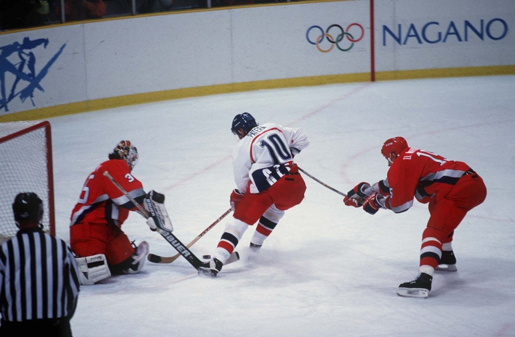 NHL players have participated at every Games since Nagano 1998 ©Getty Images