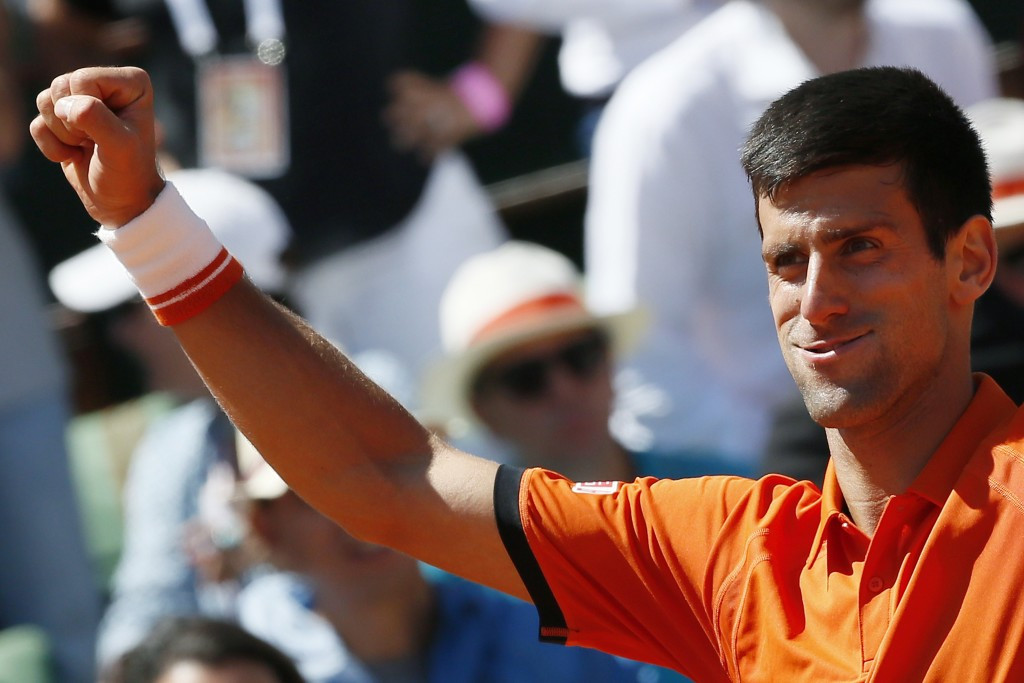 Serbian Novak Djokovic battled through to the men's final after being Andy Murray in five sets