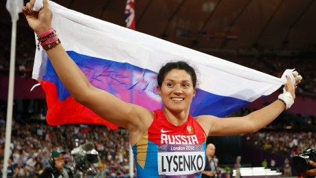 Hammer gold medallist among Russians identified as testing positive at London 2012