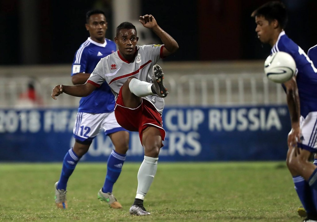 Roy Kayara struck twice for New Caledonia ©OFC/Facebook