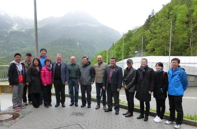 IBSF and FIL Presidents meet with Beijing 2022 delegation