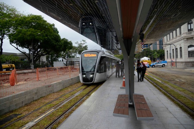 New tram system to begin operation in time for Rio 2016