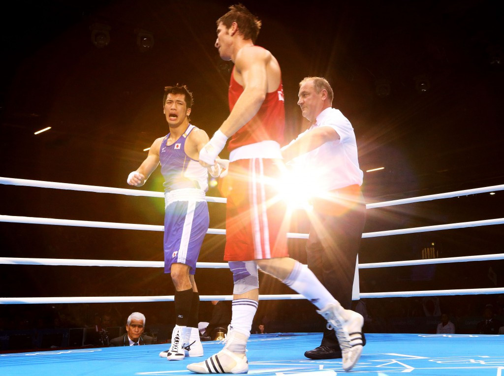 Adem Kılıççı lost in the quarter-finals of the London 2012 boxing competition ©Getty Images