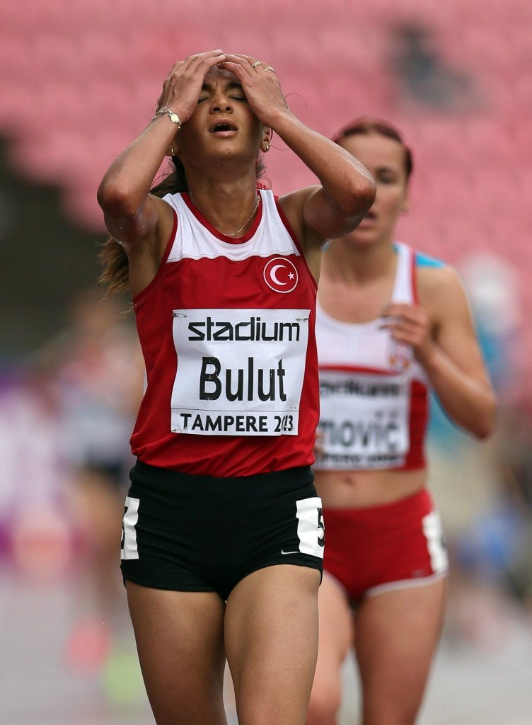 Middle distance runner Gamze Bulut is another Turkish athlete to have been implicated in a doping scandal this year ©Getty Images