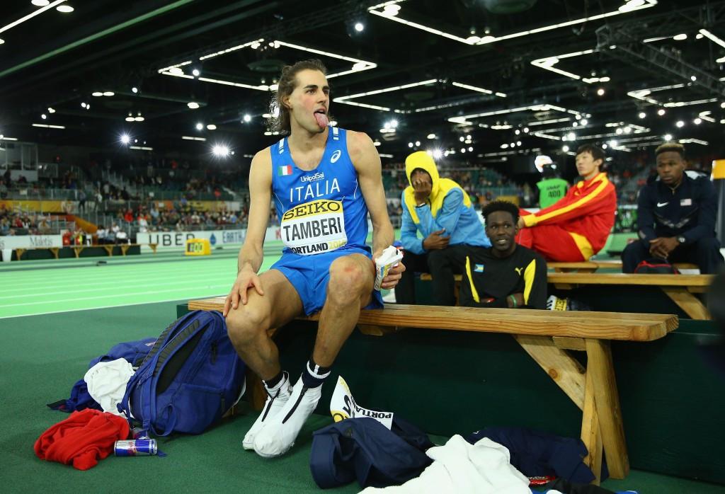 Italian hopes high for world indoor champion Tamberi in Rome's IAAF Diamond League meeting