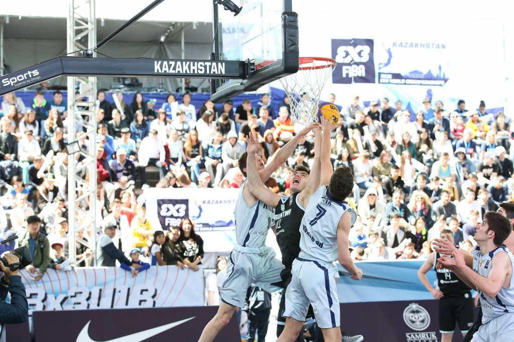 Last year's runners-up Argentina off to a flyer at FIBA 3x3 Under-18 World Championships