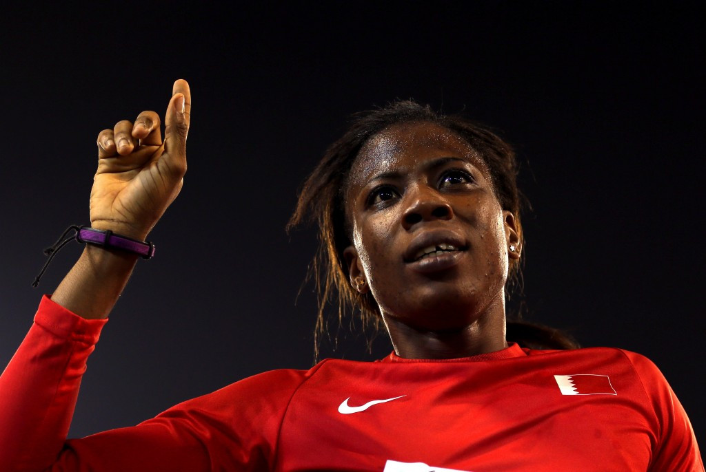 Bahrain's Kemi Adekoya was in excellent form once again on a superb day for her nation