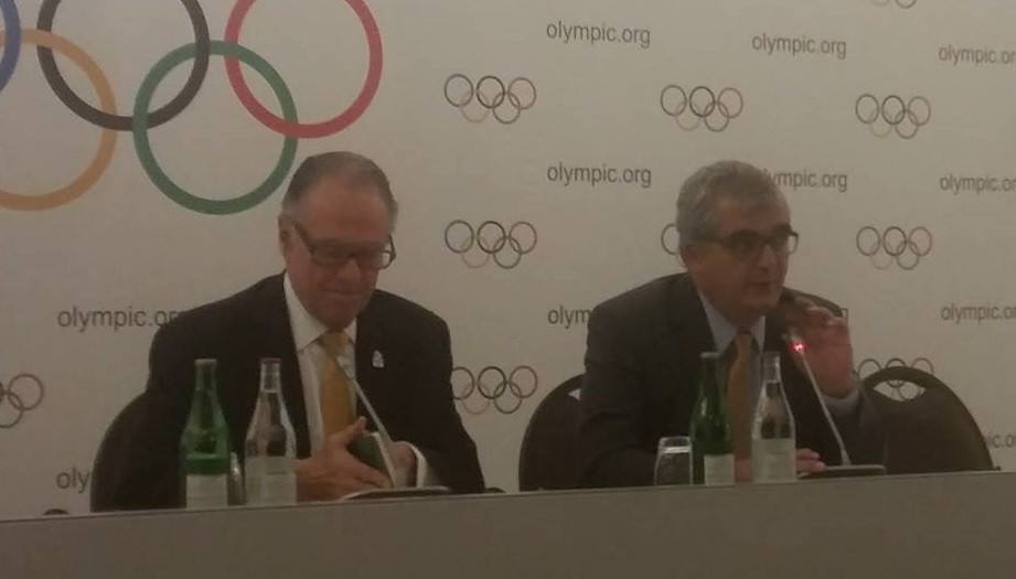 Carlos Nuzman (left) has provided a reassurance to the IOC about the risk of Zika virus ©ITG