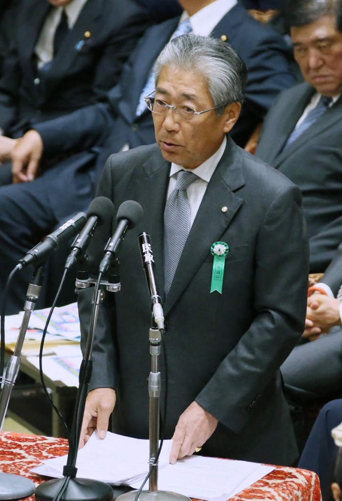 Tsunekazu Takeda, who led Tokyo's successful bid to host the 2020 Olympics and Paralympics, has faced questions in Parliament on the corruption allegations ©Getty Images