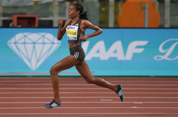 Ethiopia's Almaz Ayana produced the second fastest ever women's 5,000m, missing the eight-year-old world record of 14:11.15 set by countrywoman Tiruniesh Dibaba by less than a second-and-a-half ©Getty Images