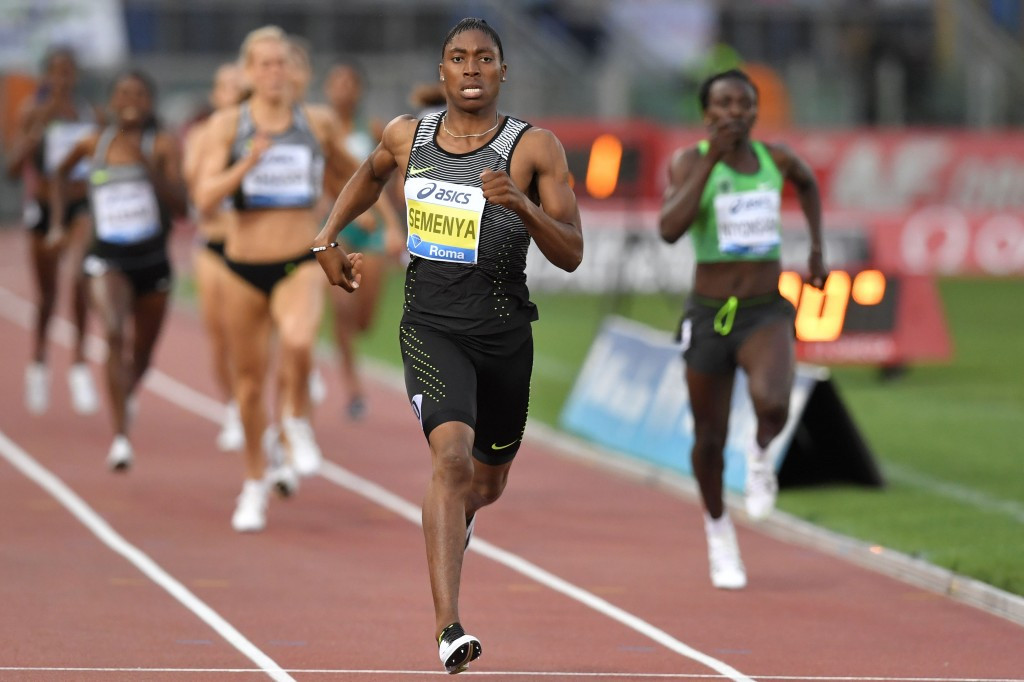 Caster Semenya took her gold medal count at the African Champonships to three with wins in the 800m and 4x400m relay ©Getty Images