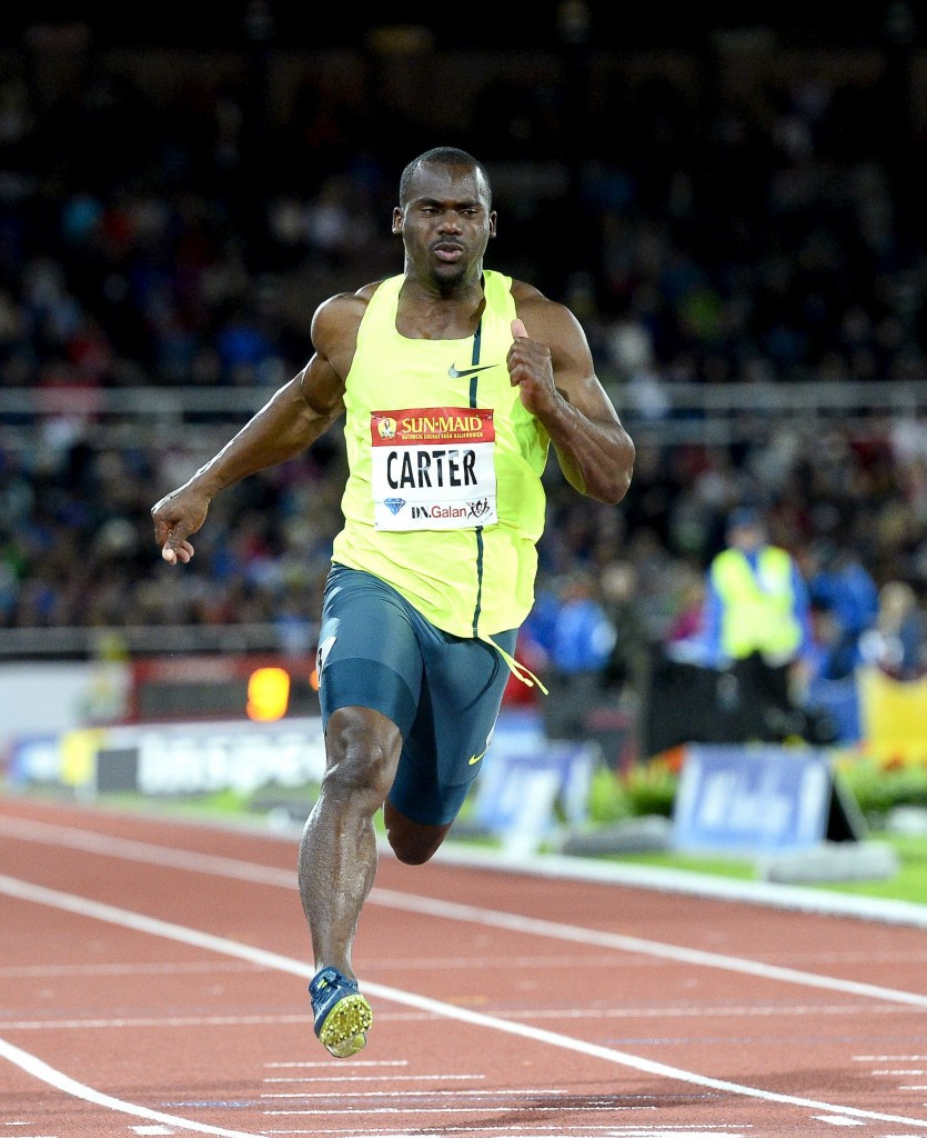 Nesta Carter has been identified as the Jamaican athlete implicated in the Beijing 2008 retests ©Getty Images