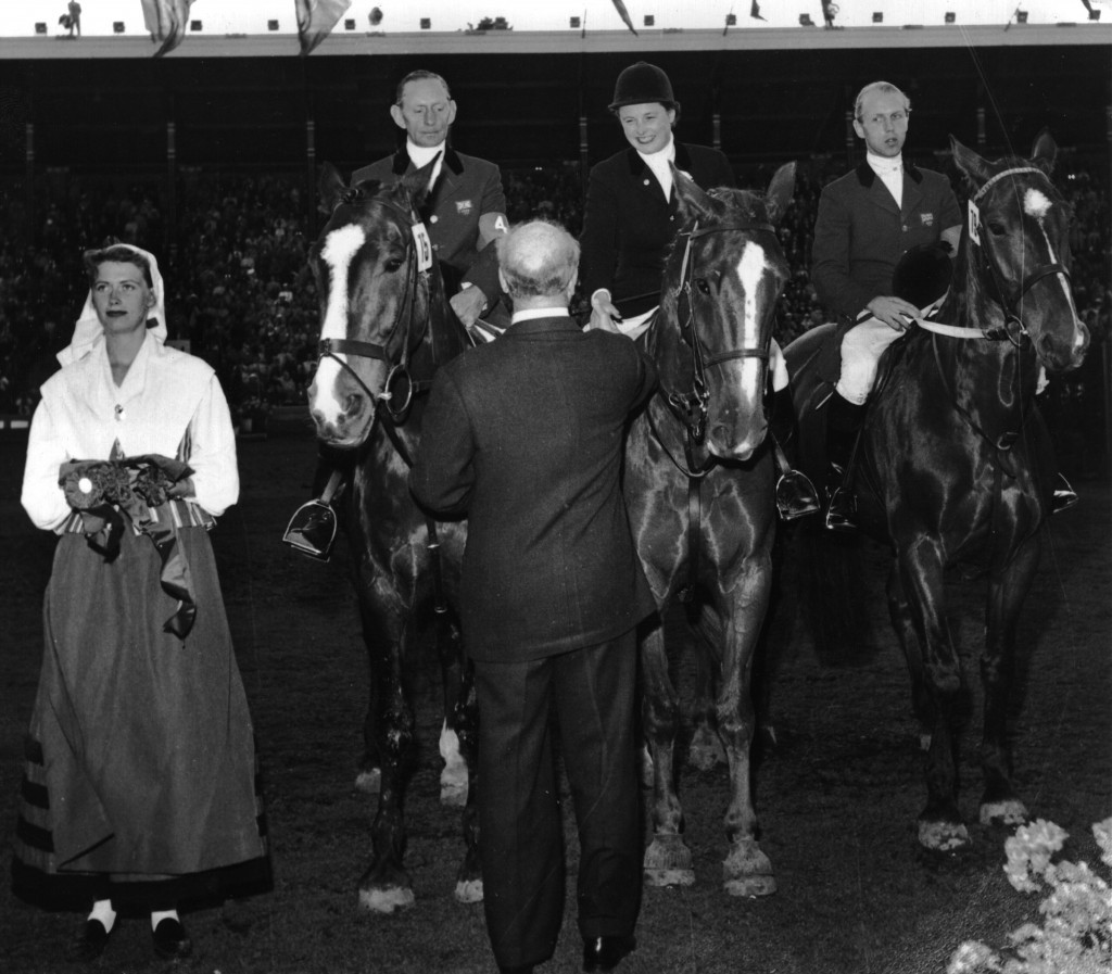 With no equestrian events included on the Melbourne 1956 Olympic programme, the world's top riders met in the Swedish capital Stockholm