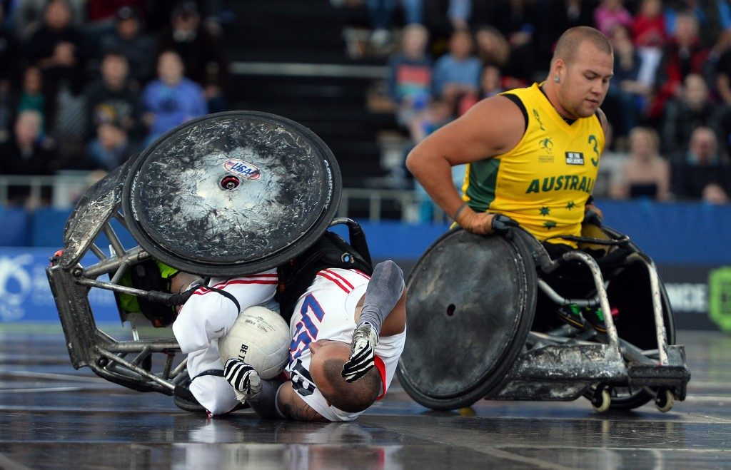 Paralympic wheelchair rugby champions Australia drawn with world number one ranked Canada at Rio 2016