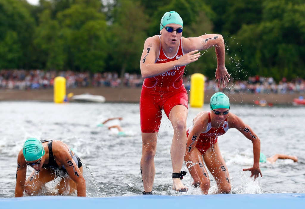 Mixed triathlon relay is another event that could be added to the Olympic programme ©Getty Images