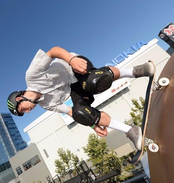 Beckett makes British history with skateboard success at Austin X Games