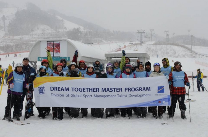 Working with the Dream Together Masters Programme is billed as a major opportunity for the ANOC scholars ©ANOC