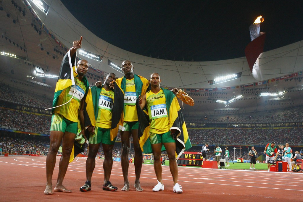 The Jamaican Olympic Association have confirmed that a member of its team from the 2008 Olympics in Beijing has tested positive for banned drugs ©Getty Images