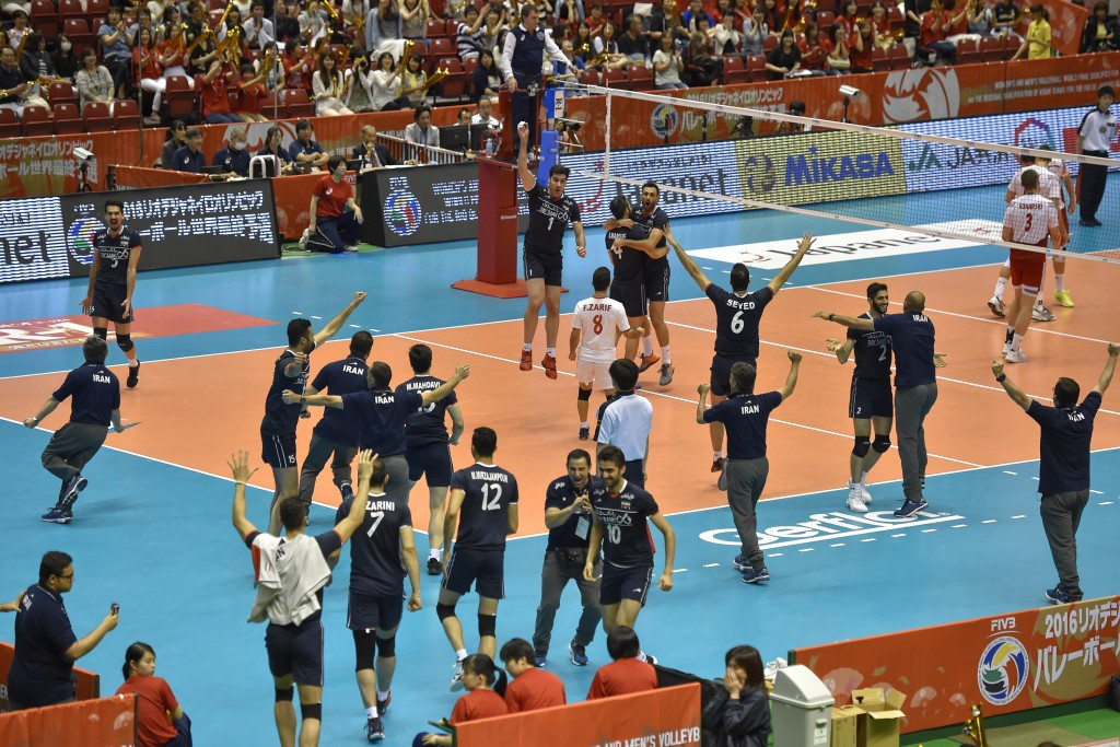 Iran will compete in the men's Olympic volleyball tournament for the first time at Rio 2016 ©Getty Images