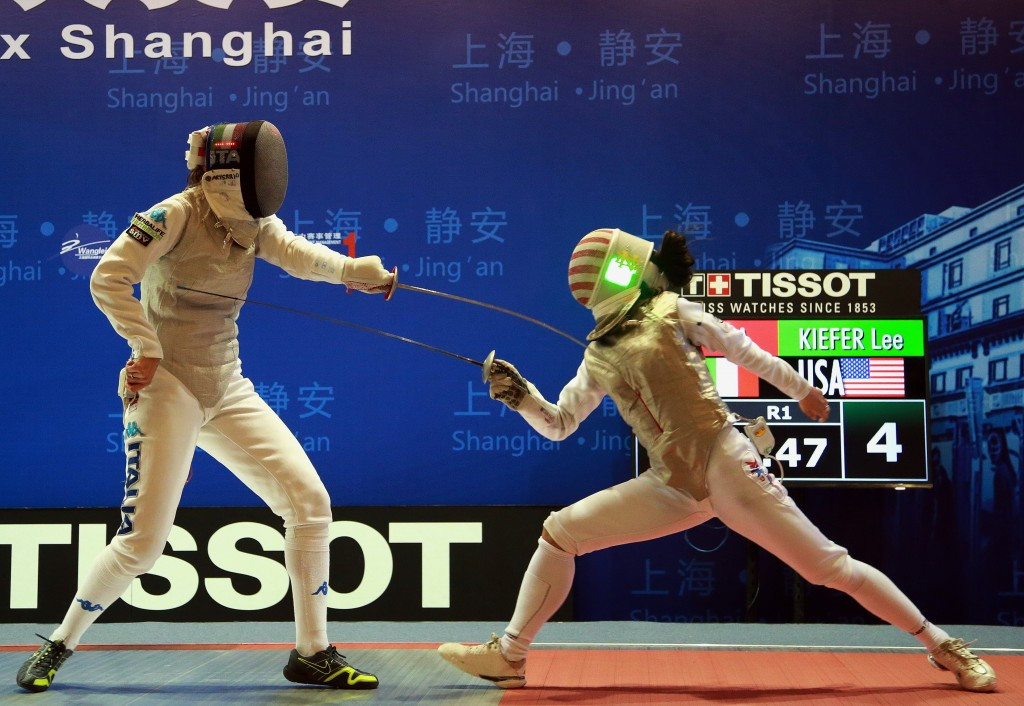 America's Lee Kiefer has risen to a career high third in the world, despite her defeat in the final in Shanghai ©Getty Images