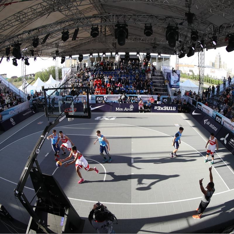 Slovenia advance to quarter-finals as rain delays completion of pool stage at FIBA 3x3 Under-18 World Championships