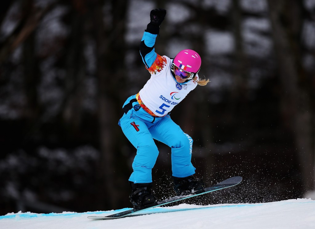 Paralympic snowboarding will be a standalone sport at Pyeongchang 2018 for the first time