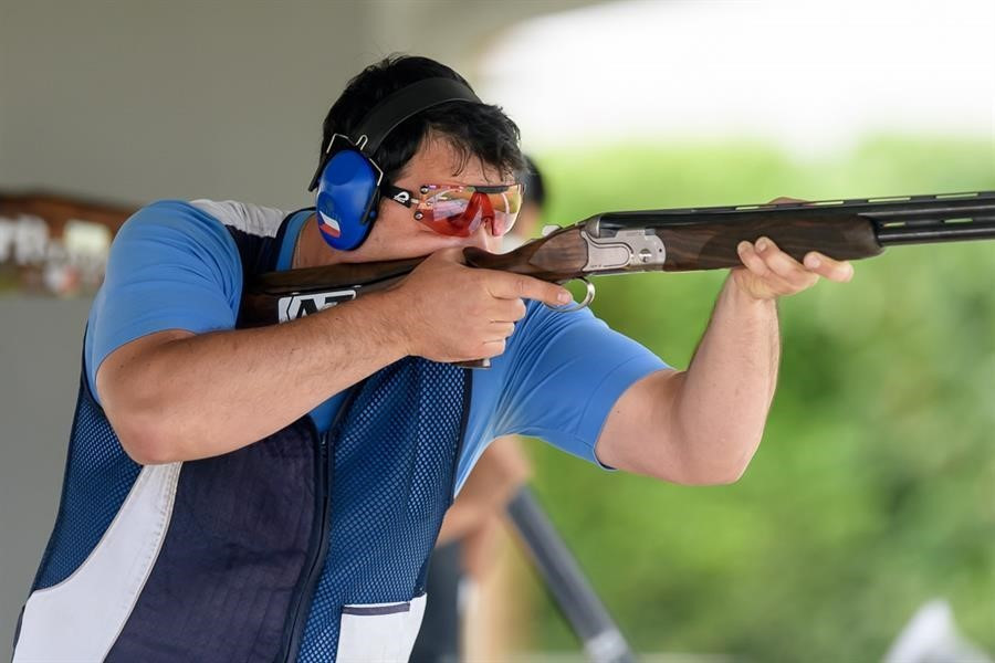 Liptak overcomes strong field to earn men's trap title at ISSF World Cup in San Marino